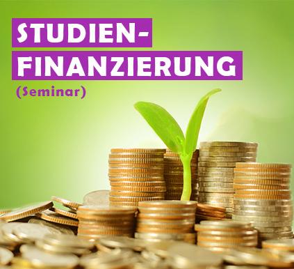 """Kostenloses Seminar """"Studien-finanzierung"""""""
